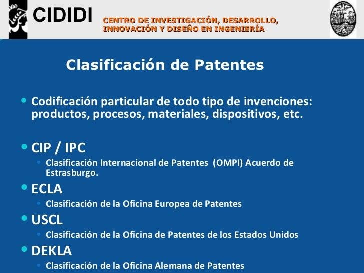 Lineamientos para la b squeda de informaci n tecnol gica for Oficina europea de patentes
