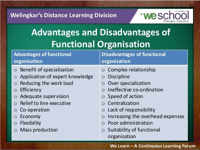 advantages and disadvantages of product divisional structure Of all the issues facing a manager as he thinks about the form of his organization, one of the thorniest is the question of whether to group activities primarily by product or by function.