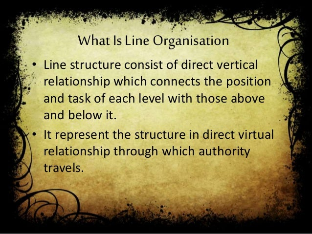 line and staff relationship in hrms