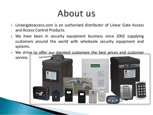 Linear AM3Plus 4 Portal Access Controller Slide 2