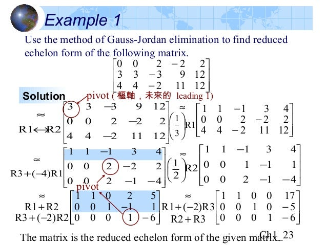 how to find the image of a matrix linear algebra