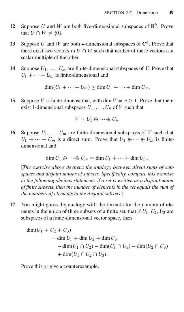 Linear algebra done right prove that r8 d u w 66 fandeluxe Gallery