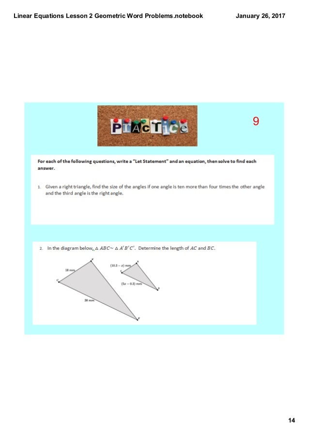 Linear Equations Problems aprita – Linear Function Word Problems Worksheet