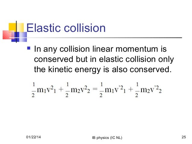 collisions and conservation of momentum Collisions and conservation of momentum the law of conservation of momentum states that the momentum of a system is conserved if there is no external force.