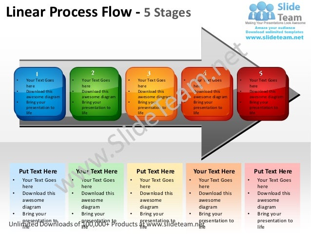 process flow template powerpoint free