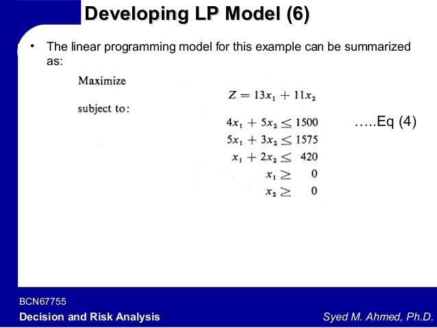 simplex method in linear programming pdf