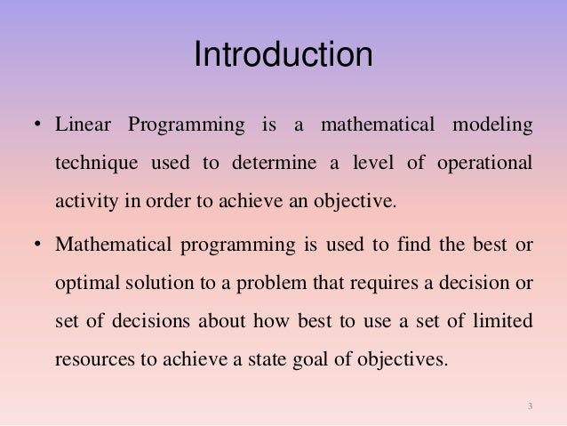 Limitations of Linear Programming | Managerial Economics