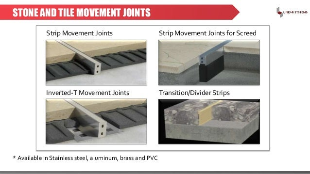 Linear Systems Expansion And Movement Joints