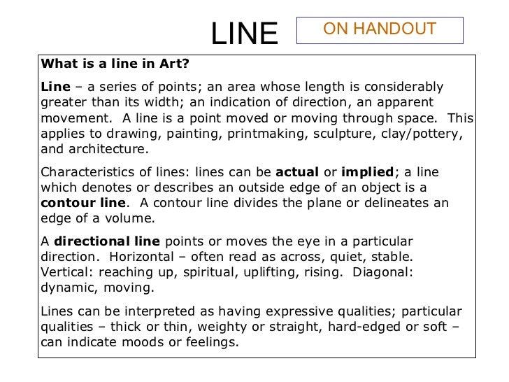 Line art_Art Appreciation