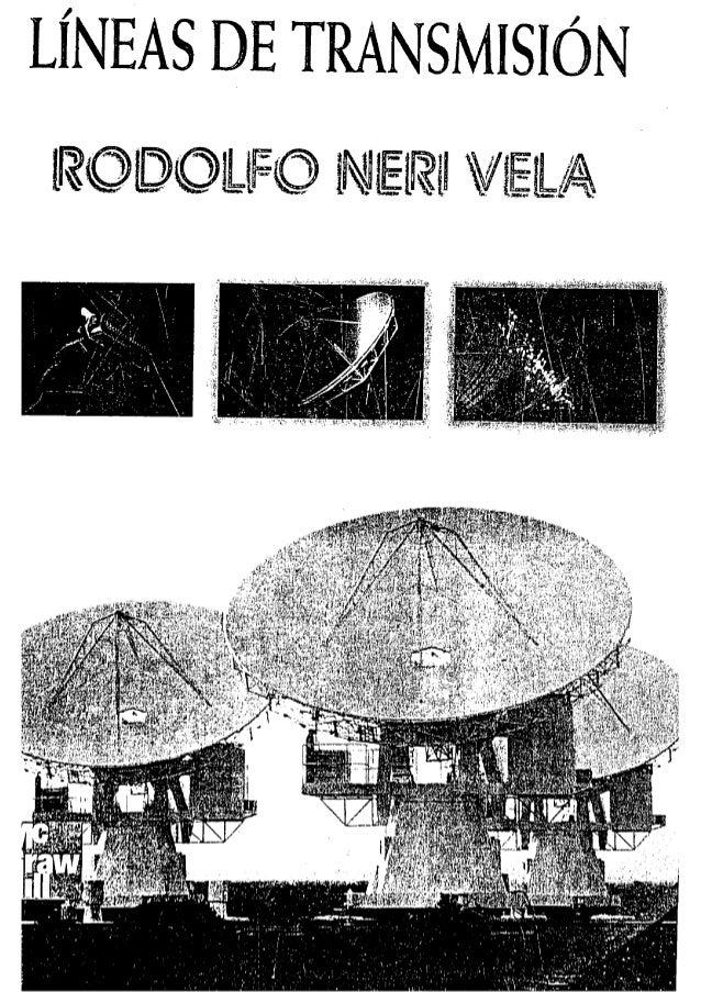 Lineas de transmision   rodolfo neri vela - en español