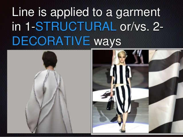 Line As Fashion Design Element