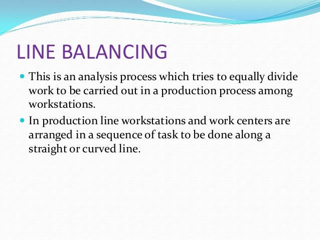 "line balancing and automation The bottom line is that 45 percent of work activities could be automated using already demonstrated technology if the technologies that process and ""understand"" natural language were to reach the median level of human performance, an additional 13 percent of work activities in the us economy could be automated."