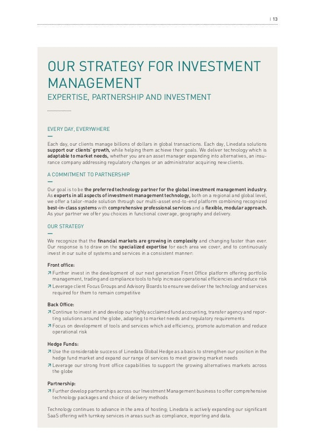 Linedata Investment Management Solutions