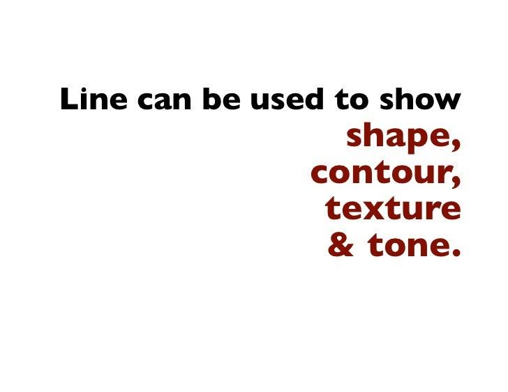 Line Drawing Techniques Slide 3