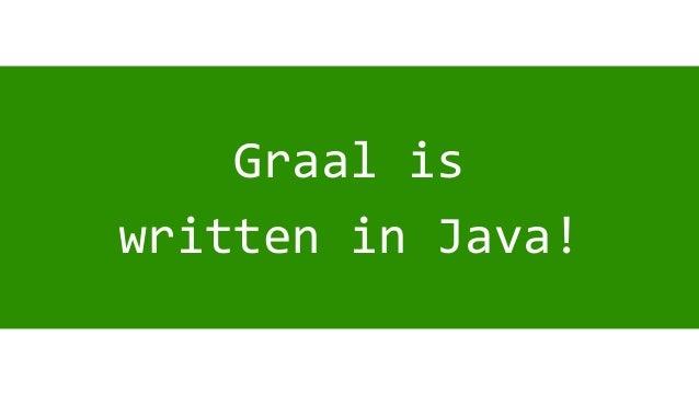 Graal in GraalVM - A New JIT Compiler