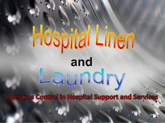 ON-PREMISE Laundry Facility: A BARRIER LAUNDRY SYSTEM