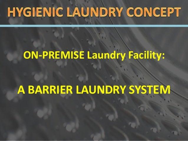 Linen and Laundry Management Slide 2