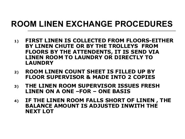 linen control Prevention and control of infection in care homes: summary for staff author department of health and health protection agency soiled linen environmental.