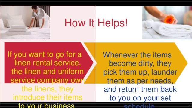 Linen Service: A Complete Cleaning Solution for Your Daily Needs Slide 3