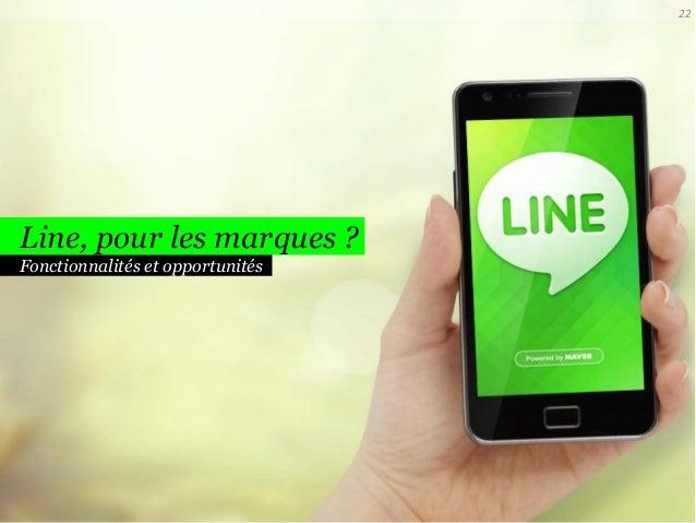 22  Line, pour les marques ? Fonctionnalités et opportunités