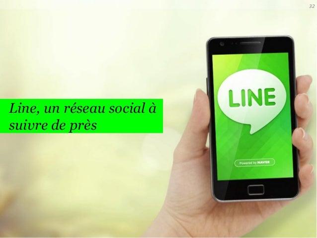 32  Line, un réseau social à suivre de près