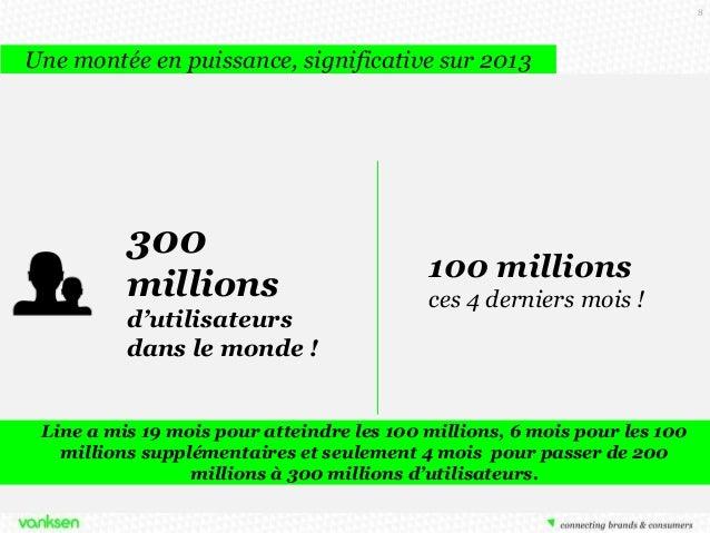 8  Une montée en puissance, significative sur 2013  300 millions d'utilisateurs dans le monde !  100 millions ces 4 dernie...