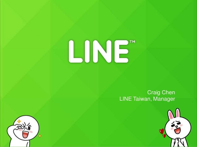 Craig Chen LINE Taiwan, Manager