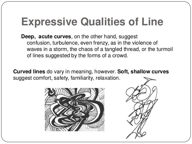 Curved Line Definition In Art : Line presentation