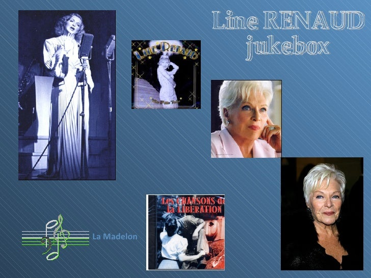 Line RENAUD jukebox La Madelon
