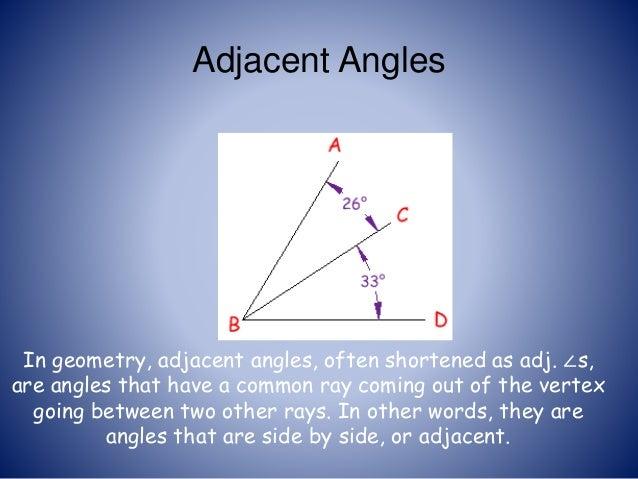 Lines and angles  Lines and angle...