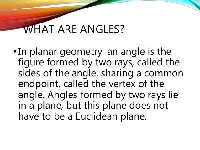 Lines and angles Slide 2
