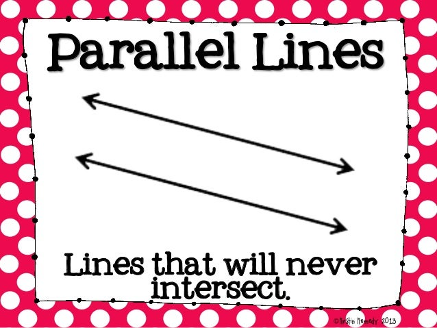 Image result for parallel and perpendicular lines poster
