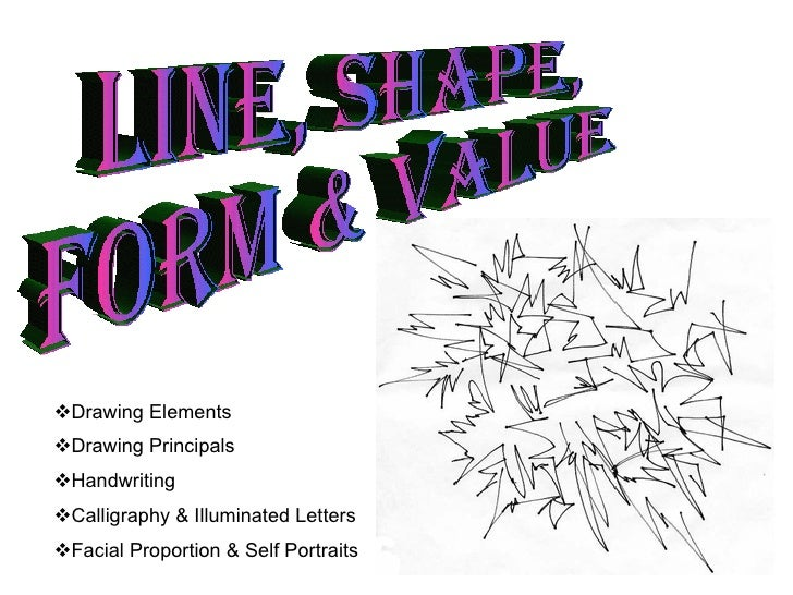 Line Shape Form : Line shape form value
