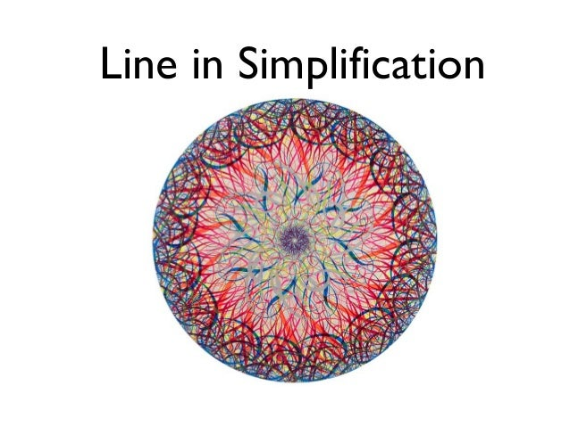 Line in Simplification