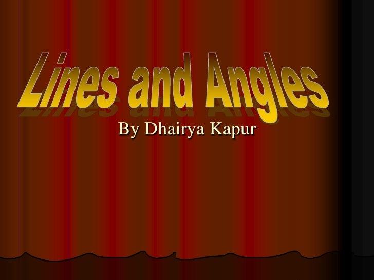 By Dhairya Kapur