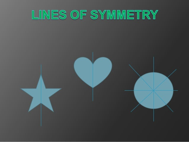 lines of symmetry lesson