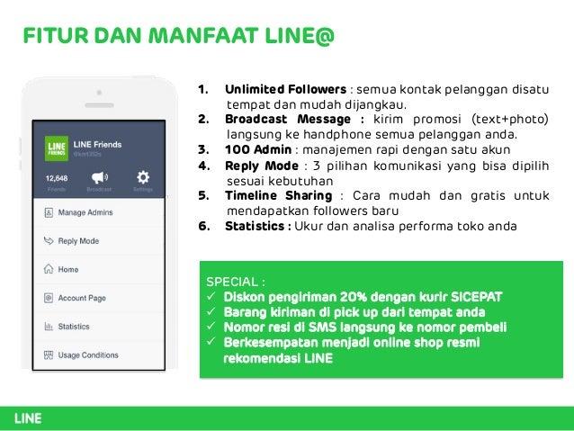 LINE@ success tools for online shop Slide 3