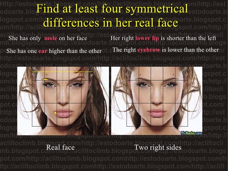 who has a symmetrical face