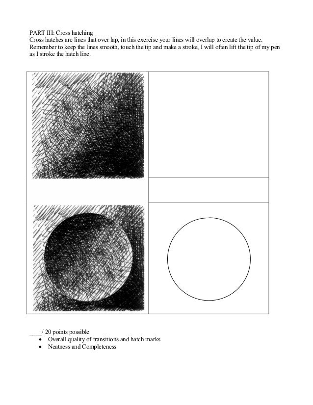 Line texture value_worksheet for wood burning