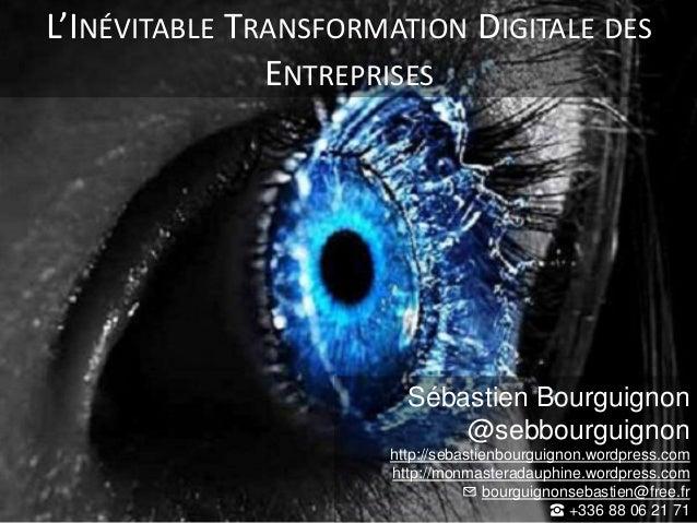 Sébastien Bourguignon @sebbourguignon http://sebastienbourguignon.wordpress.com http://monmasteradauphine.wordpress.com ✉ ...