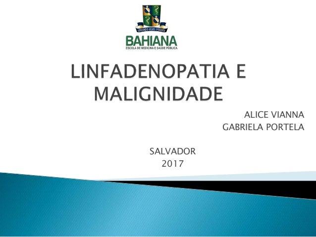 ALICE VIANNA GABRIELA PORTELA SALVADOR 2017