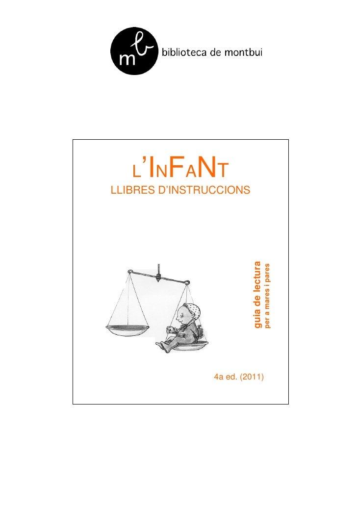 'I FANT   L NLLIBRES D'INSTRUCCIONS                          guia de lectura                                            pe...
