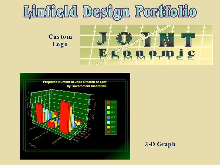 3-D Graph Custom Logo