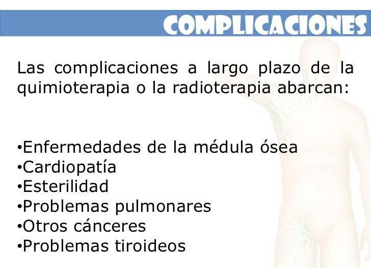 Pérdida de peso inexplicable</li></li></ul><li>Pruebas y Exámenes<br /><ul><li>Biopsia del tejido sospechoso, por lo regul...