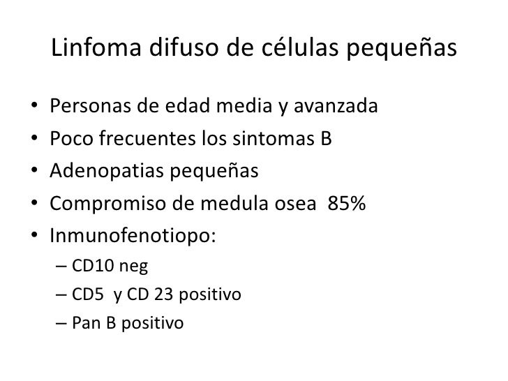 Linfoma difuso de células grandesCuadro clinico (Inicio extraganglionar)   En 25%, la localización mas frecuente: anillo d...