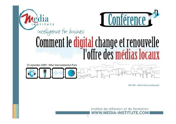 L'information audiovisuelle locale