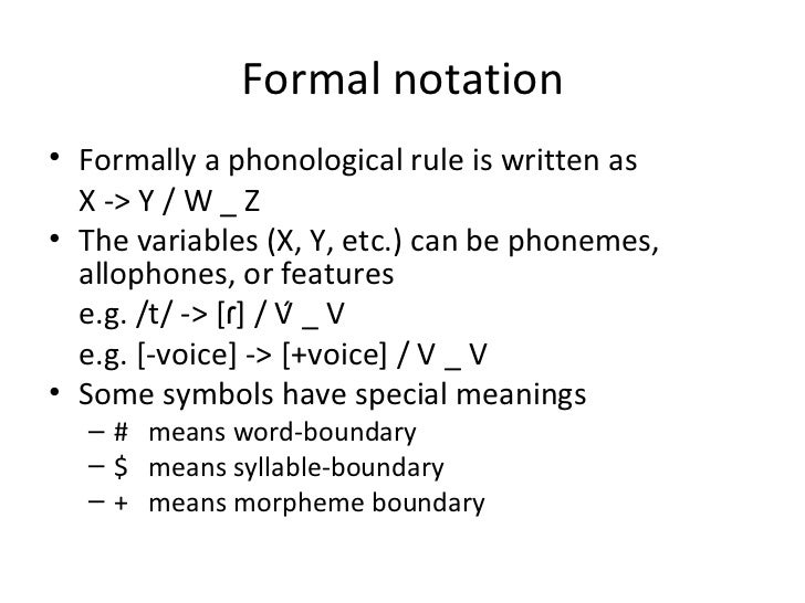 phonological rules Phonological features of  in-, un-and  non-  regular allomorphs are derived from the underlying representation using phonological rules (lieber, 2010: 159.