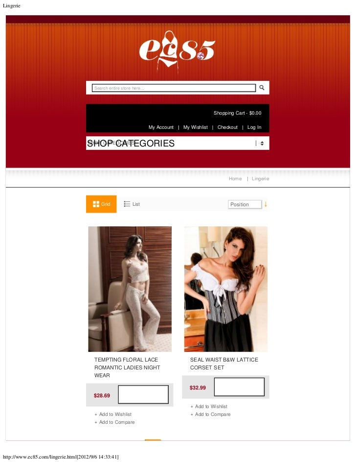 Lingerie                                         Search entire store here...                                              ...