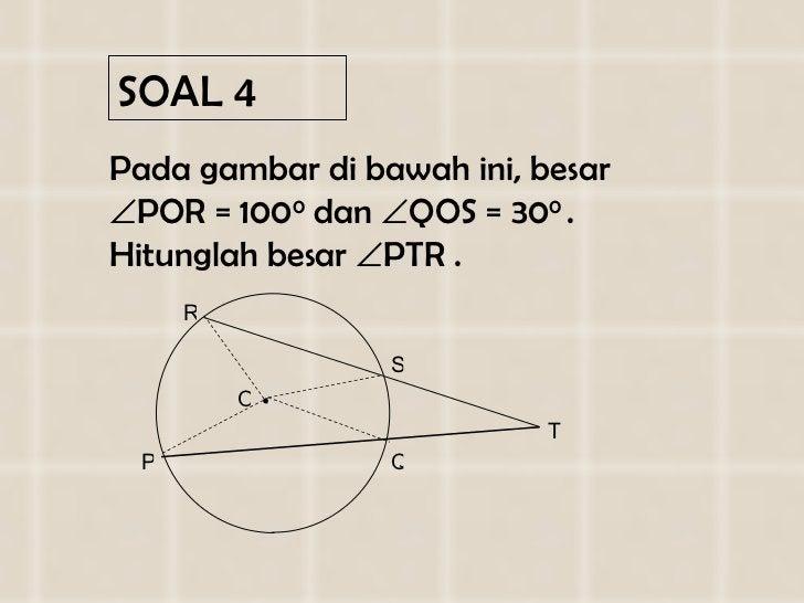SOAL  4 <ul><li>Pada gambar di  bawah ini , besar   POR = 1 0 0 0  dan   QOS =  3 0 0  . Hitunglah besar   PTR . </li><...