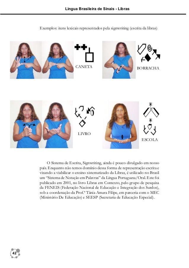 Lições sobre o SignWriting Um Sistema de Escrita para Língua de Sinais
